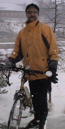 Snowing at Sylvan